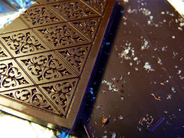 Chocolate… com flor de sal?