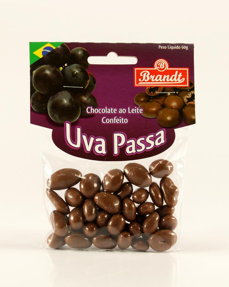 Confeito Uva Passas Chocolate ao Leite 60g