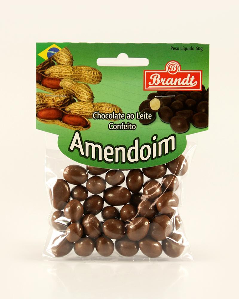 Confeito Amendoim Chocolate ao Leite 60g