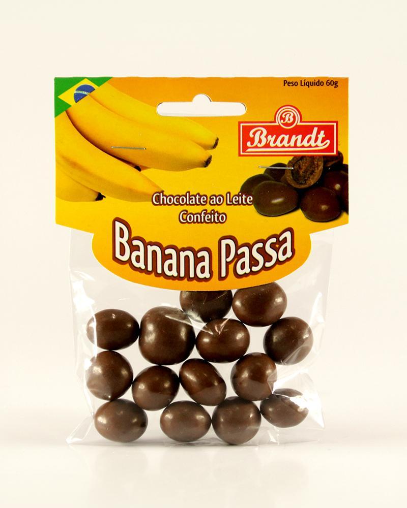 Confeito Banana Passa 60g